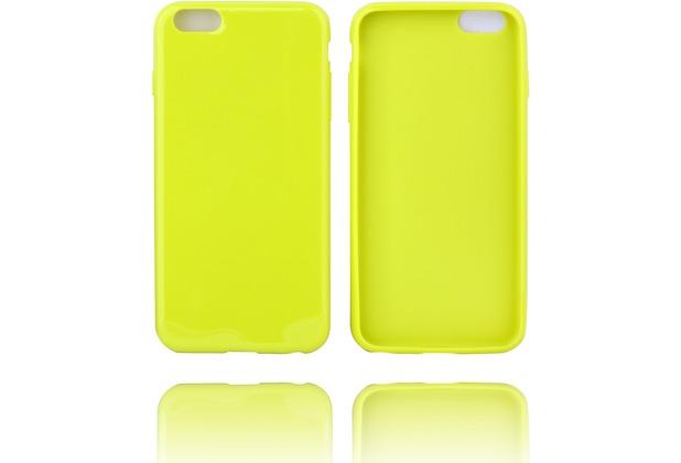 Twins Soft Case glossy mit abgerundeten Kanten für iPhone 6 Plus-grün