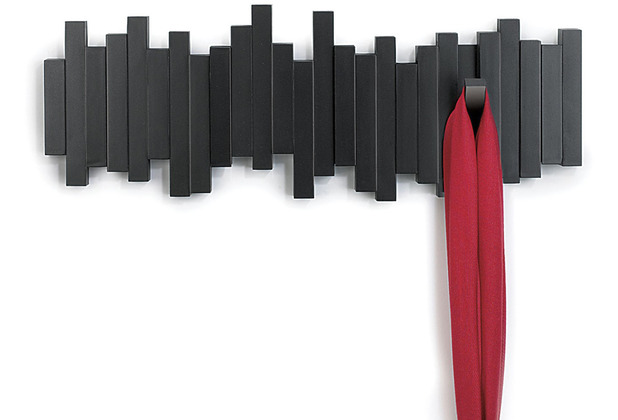 umbra Garderobe STICKS MULTI HOOK 5, schwarz