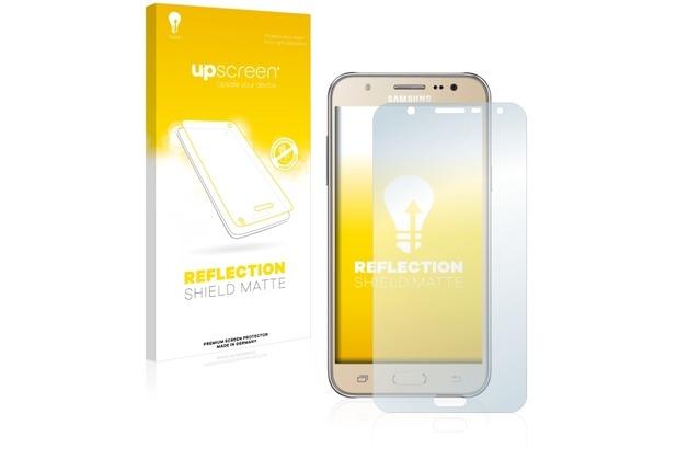 upscreen Reflection Shield Matte Premium Displayschutzfolie für Samsung Galaxy J7 (2016)