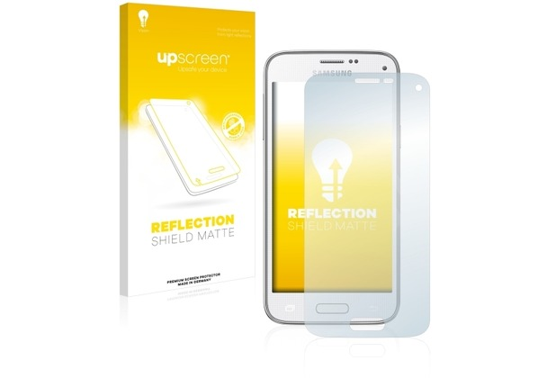 upscreen Reflection Shield Matte Premium Displayschutzfolie für Samsung Galaxy S5 Mini SM-G800