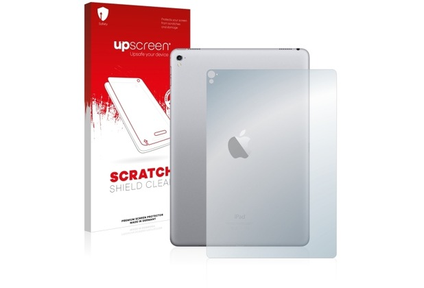 upscreen Scratch Shield Clear Premium Displayschutzfolie für Apple iPad Pro (9.7) (Rückseite)