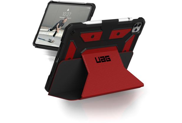 Urban Armor Gear Metropolis Case, Apple iPad Pro 11 (2020 & 2018), magma (rot), 122076119494