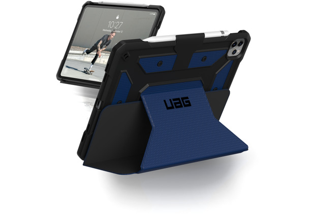Urban Armor Gear Metropolis Case, Apple iPad Pro 12,9 (2020 & 2018), cobalt, 122066115050