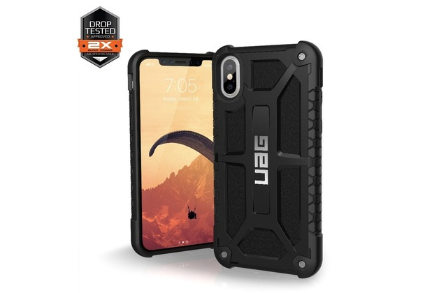 Urban Armor Gear Monarch Case, Apple iPhone X, midnight (schwarz)