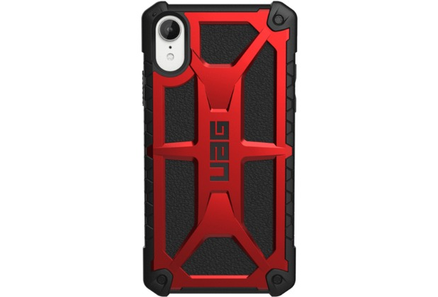 Urban Armor Gear Monarch Case, Apple iPhone XR, crimson (rot)