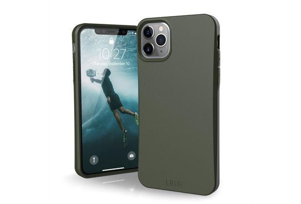 Urban Armor Gear Outback-BIO Case, Apple iPhone 11 Pro Max, olive drab, 111725117272
