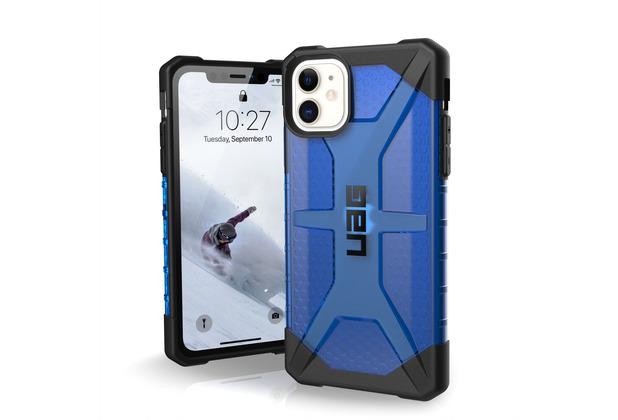 Urban Armor Gear Plasma Case, Apple iPhone 11, cobalt (blau transparent), 111713115050