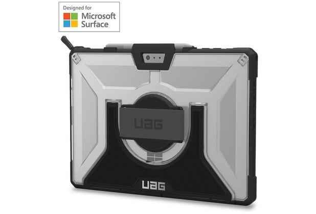 Urban Armor Gear Plasma Case mit Handschlaufe - Surface Pro (2017) & Pro 4 - Ice