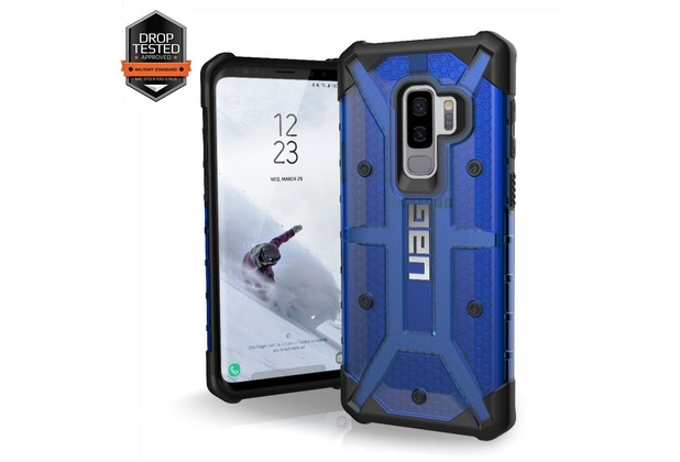 Urban Armor Gear Plasma Case Samsung Galaxy S9+ cobalt (blau transparent)