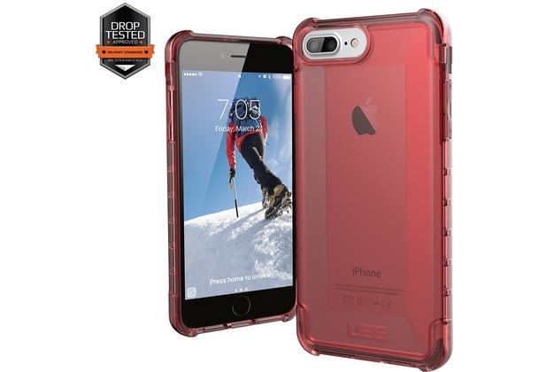 Urban Armor Gear Plyo Case - Apple iPhone 7 Plus / iPhone 8 Plus/6S Plus - crimson (rot transparent)