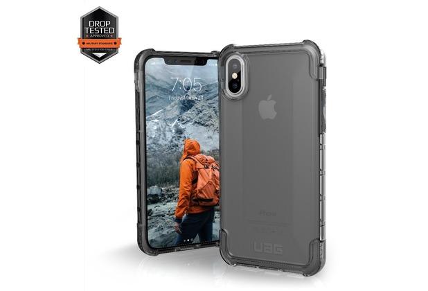 Urban Armor Gear Plyo Case, Apple iPhone X, ash (transparent)