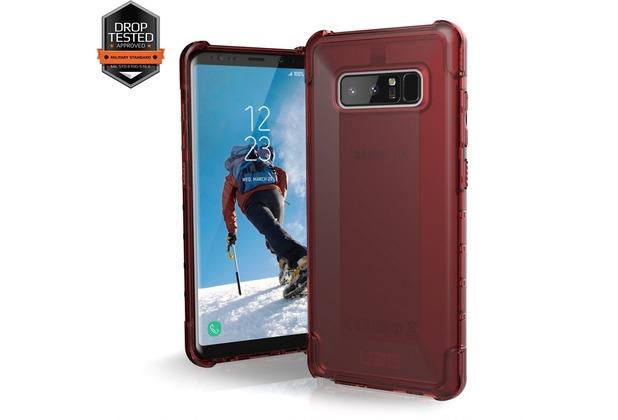 Urban Armor Gear Plyo Case - Samsung Galaxy Note8 - crimson (rot transparent)