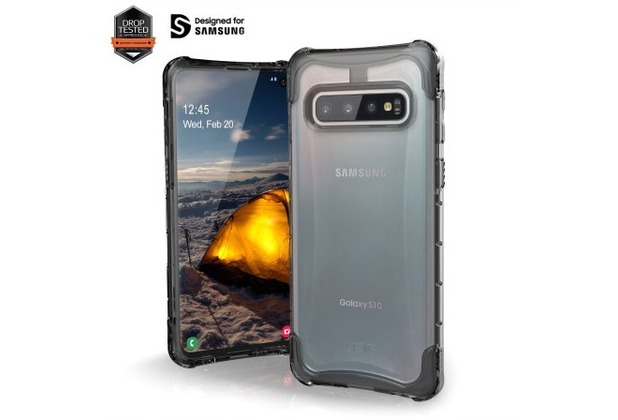 Urban Armor Gear Plyo Case, Samsung Galaxy S10, ice
