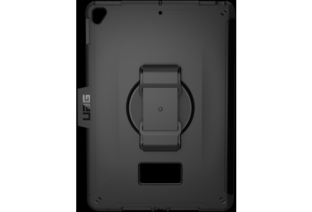 Urban Armor Gear Scout Handstrap Case, Apple iPad 10,2 (2019), schwarz, 12191H114040