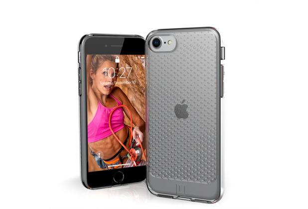 Urban Armor Gear [U] Lucent Case, Apple iPhone SE (2020)/8/7, ice (transparent), 11204N314343