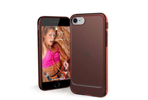 Urban Armor Gear [U] Lucent Case, Apple iPhone SE (2020)/8/7, orange, 11204N319797