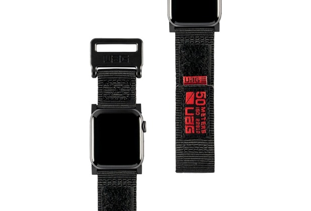 Urban Armor Gear UAG Urban Armor Gear Active Strap, Apple Watch 38/40mm, schwarz, 19149A114040