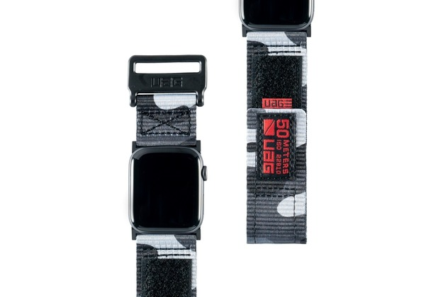 Urban Armor Gear UAG Urban Armor Gear Active Strap, Apple Watch 42/44mm, midnight camo, 19148A114061