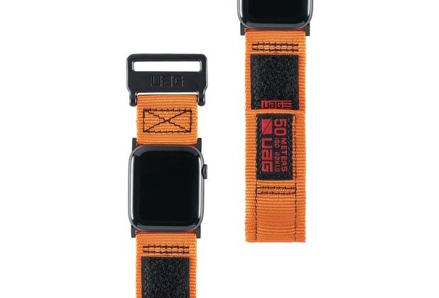 Urban Armor Gear UAG Urban Armor Gear Active Strap, Apple Watch 42/44mm, orange, 19148A114097