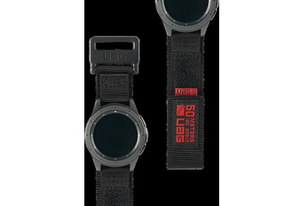 Urban Armor Gear UAG Urban Armor Gear Active Strap, Samsung Galaxy Watch 42mm, schwarz, 29181A114040