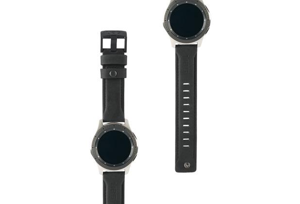 Urban Armor Gear UAG Urban Armor Gear Leather Strap, Samsung Galaxy Watch 46mm, schwarz, 29180B114040