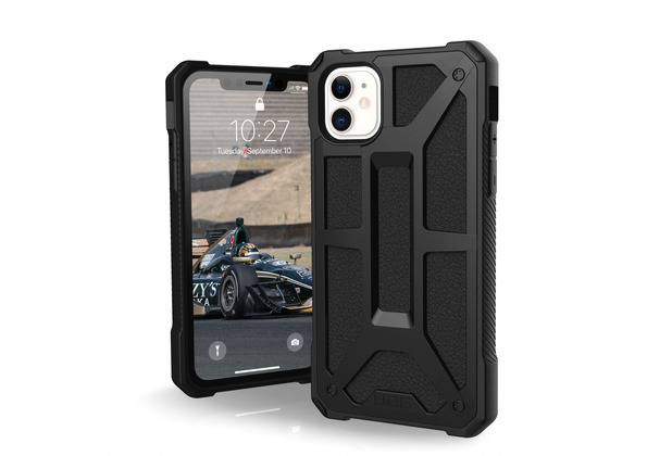 Urban Armor Gear UAG Urban Armor Gear Monarch Case, Apple iPhone 11, schwarz, 111711114040