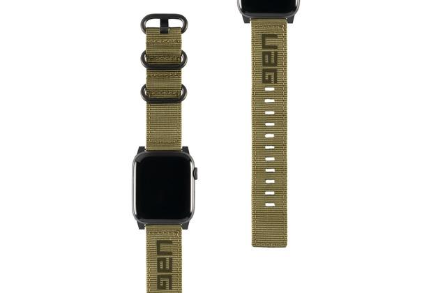 Urban Armor Gear UAG Urban Armor Gear Nato Strap, Apple Watch 42/44mm, olive drab, 19148C114072