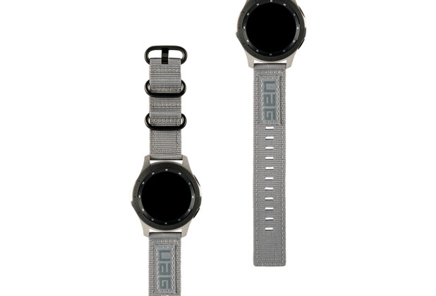 Urban Armor Gear UAG Urban Armor Gear Nato Strap, Samsung Galaxy Watch 42mm, grau, 29181C114030
