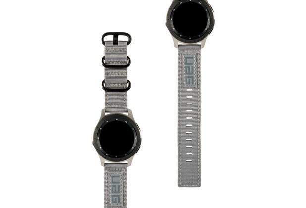 Urban Armor Gear UAG Urban Armor Gear Nato Strap, Samsung Galaxy Watch 46mm, grau, 29180C114030