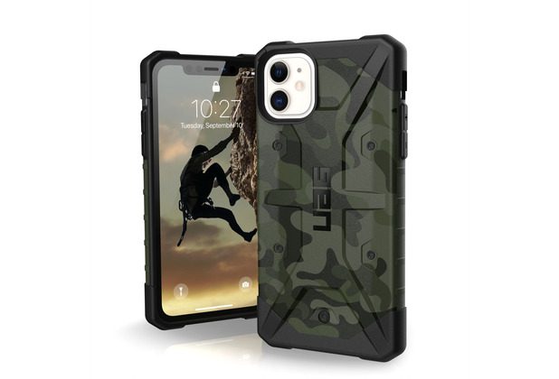 Urban Armor Gear UAG Urban Armor Gear Pathfinder Case, Apple iPhone 11, forest camo, 111717117271