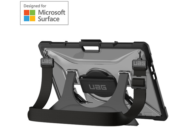 Urban Armor Gear UAG Urban Armor Gear Plasma Case, Microsoft Surface Pro X, ice (transparent), 321783114343