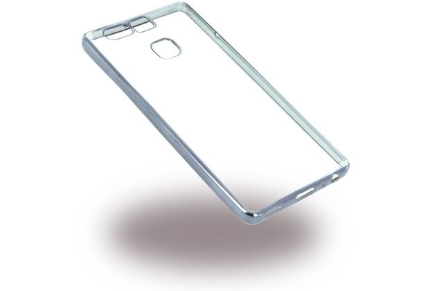 UreParts Electroplating Silikon Cover für Huawei P9 - Schwarz