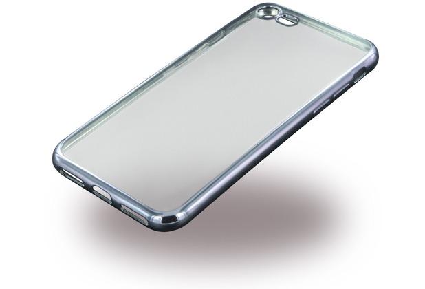 UreParts Electroplating SilikonCover - Apple iPhone 7 / iPhone 8 - Schwarz