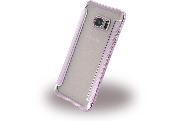 UreParts Shockproof Antirutsch - Silikon Cover für Samsung G935F Galaxy S7 Edge - Pink