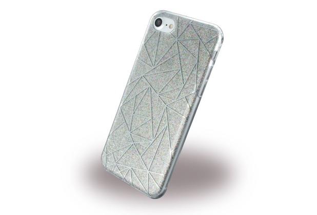 UreParts Tribal Case - Silikon Cover / Schutzhülle - Apple iPhone 7 / 8 - Grau
