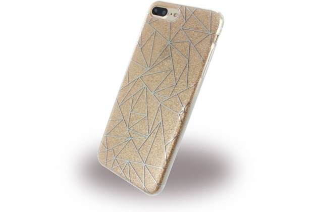 UreParts Tribal Case - Silikon Cover / Schutzhülle - Apple iPhone 7 Plus / iPhone 8 Plus - Gold