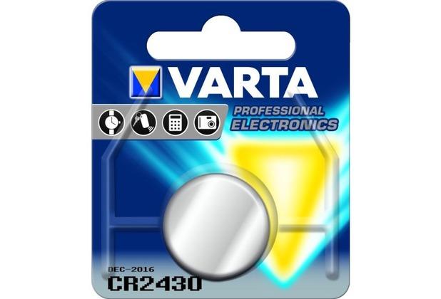 VARTA CR2430 Lithium 280 mAh V3