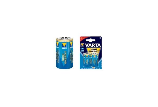 VARTA High Energy Baby C Batterie (2 Stück)