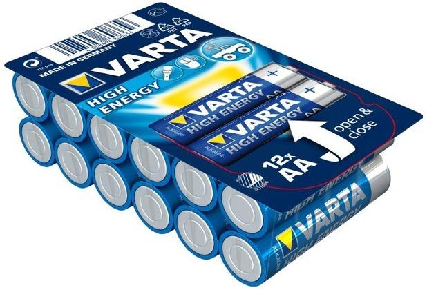 VARTA HIGH ENERGY Batterie AA LR6 Mignon 12er Big Box