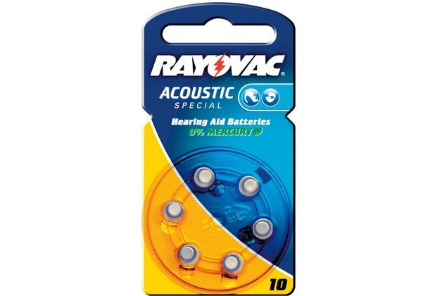 VARTA Hörgeräte-Knopfzellen PR70 Rayovac Akustic Spezial