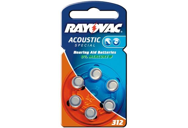 VARTA Hörgeräte-Knopfzellen PR41 Rayovac Akustic Spezial