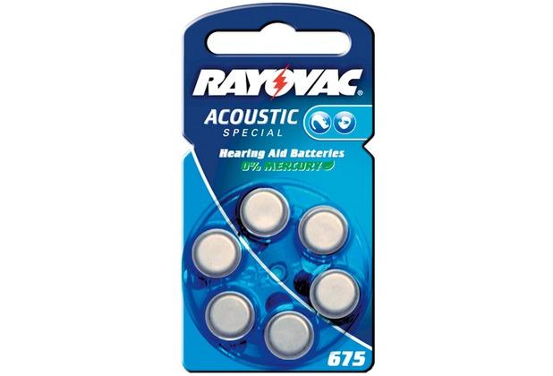 VARTA Hörgeräte-Knopfzellen PR44 Rayovac Akustic Spezial
