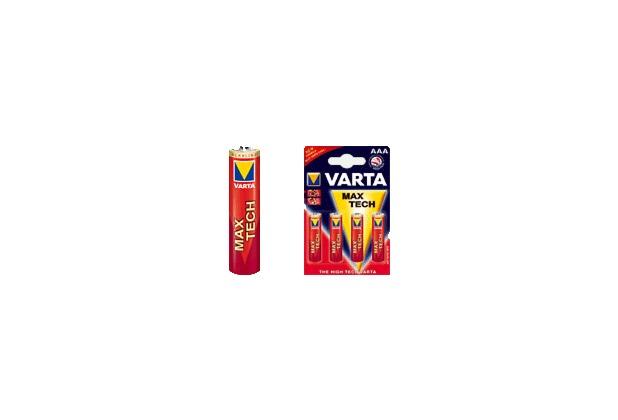 VARTA Max Tech Micro AAA Batterie (4 Stück)