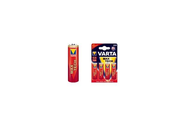 VARTA Max Tech Mignon AA Batterie (4 Stück)