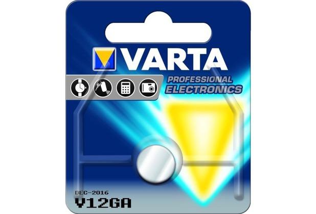 VARTA Knopfzelle V12GA 1er Blister