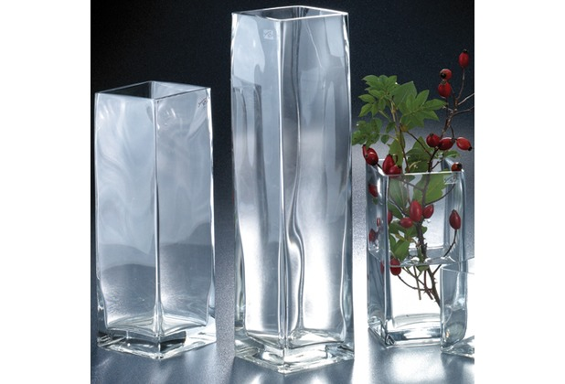 Vase Square 40 cm hoch