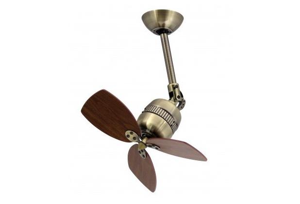 Vaxcel Aireryder Deckenventilator / Wandventilator Toledo Messing Antik