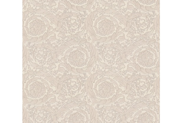 Versace barocke Mustertapete Barocco Flowers Vliestapete braun creme metallic 10,05 m x 0,70 m