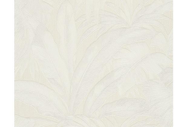 Versace florale Mustertapete Giungla, Tapete, creme, metallic 962402