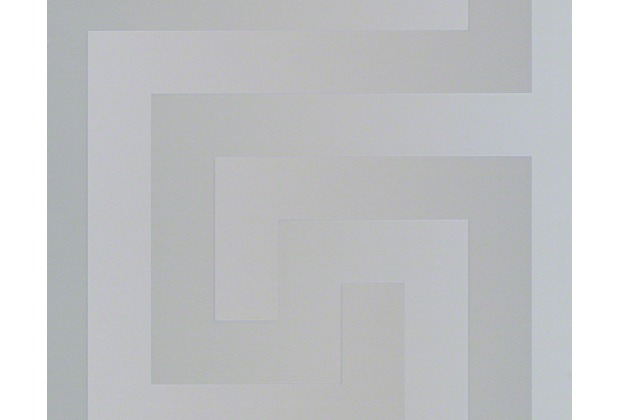 Versace grafische Mustertapete Greek, Tapete, metallic 935235